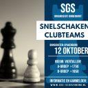Inschrijving Snelschaken clubteams geopend